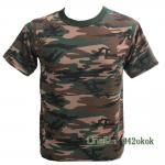 เสื้อยืดทหารแขนสั้น Size M
