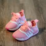 Baby Touch รองเท้าเด็ก รองเท้าพื้นแข็ง อดิดาส NMD (ชมพู)