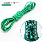 เชือกผู้รองเท้าพร้อมตัวล็อค shoestring lock NewStyle สีเขียว / Green