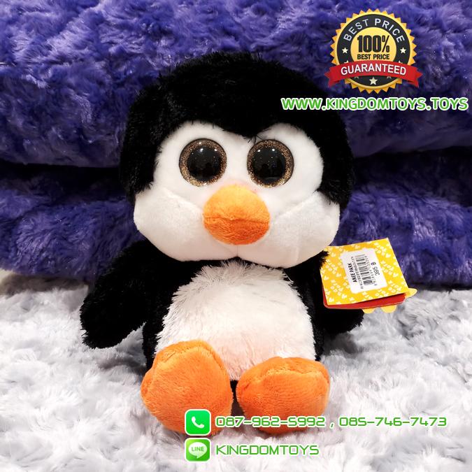 ตุ๊กตาเพนกวินบิ๊กอาย 7.5 นิ้ว [Anee Park]