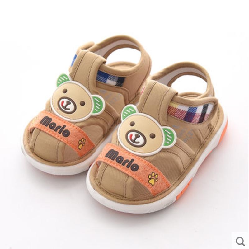 Baby Touch รองเท้าเดินมีเสียง ใส่สบาย หมีแลบลิ้น (Shoes - FSC3)