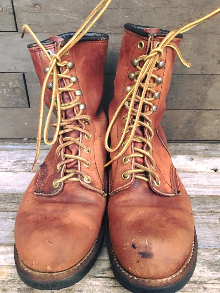 Vintage Red wing 967 ปี 1974!เบอร์ 7D *