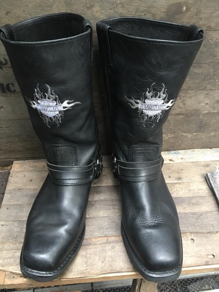 Harley Davidson Boot size 12/30cm ทรงสวย สภาพดี ราคา 2200