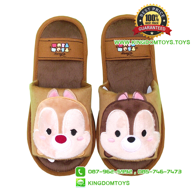 รองเท้าพื้นบาง Chip Dale ซูมซูม [Disney Tsum]