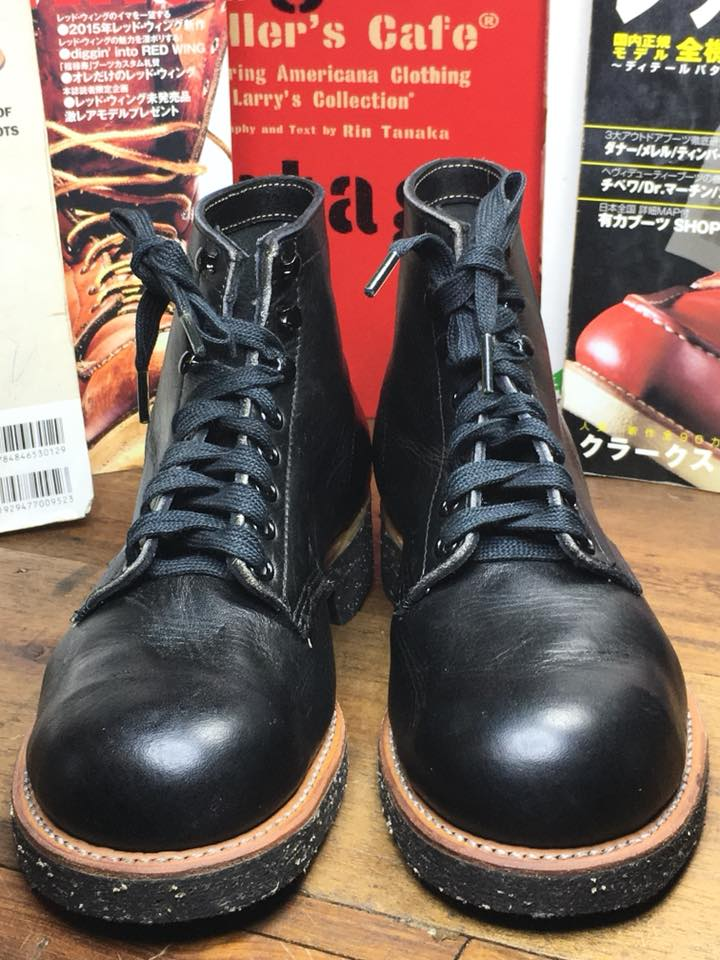 .Vintage NOS Iron Age USA safety หัวเหล็ก size 6.5D