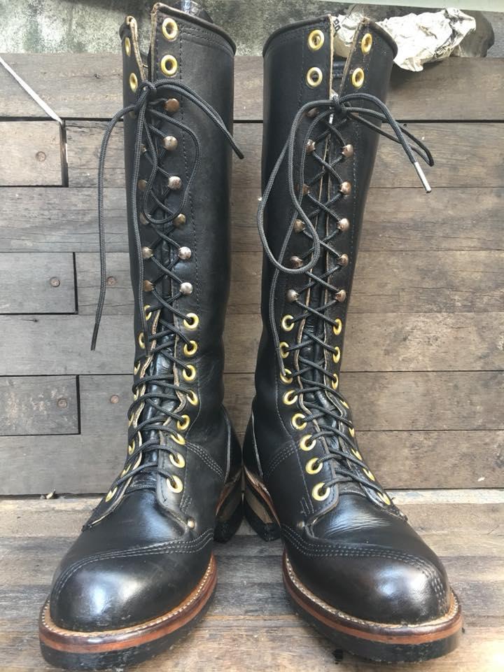 VTG lineman boot USA size 7D