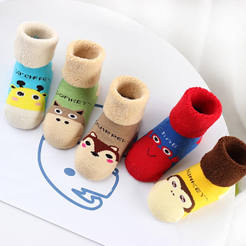 Baby Touch ถุงเท้าเด็ก ยาวบาง เซต Variety 5 คู่ (Socks - SSV)