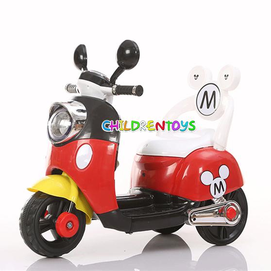 รถแบตเตอรี่ Mickey Mouse สำหรับเด็ก