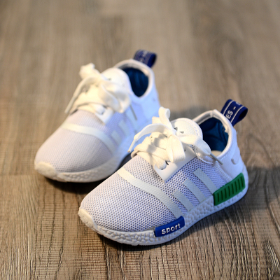Baby Touch รองเท้าเด็ก รองเท้าพื้นแข็ง อดิดาส NMD (Shoes - FHA6)