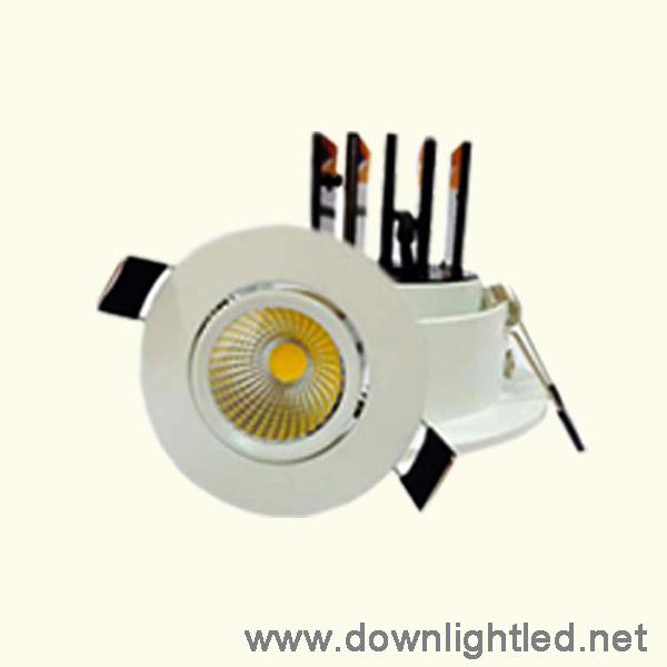 ดาวน์ไลท์ LED COB 7w (แสงส้ม)