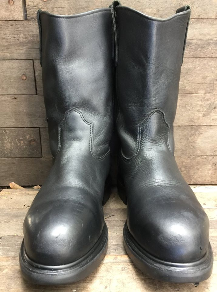 Red Wing 4471 SAETY Boot Biker Boot พื้นลายงู