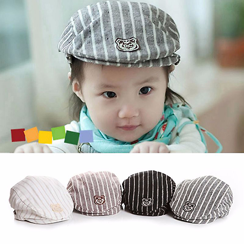 Baby Touch หมวกเด็ก บาเรตลายทาง (Hat - CA)