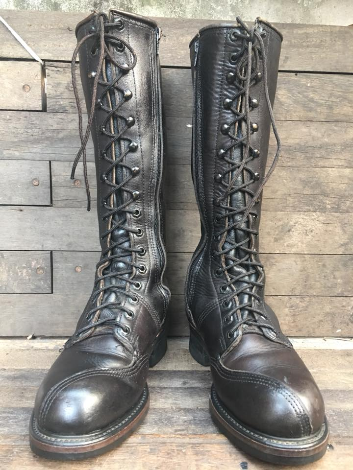 VTG lineman boot USA size 6D