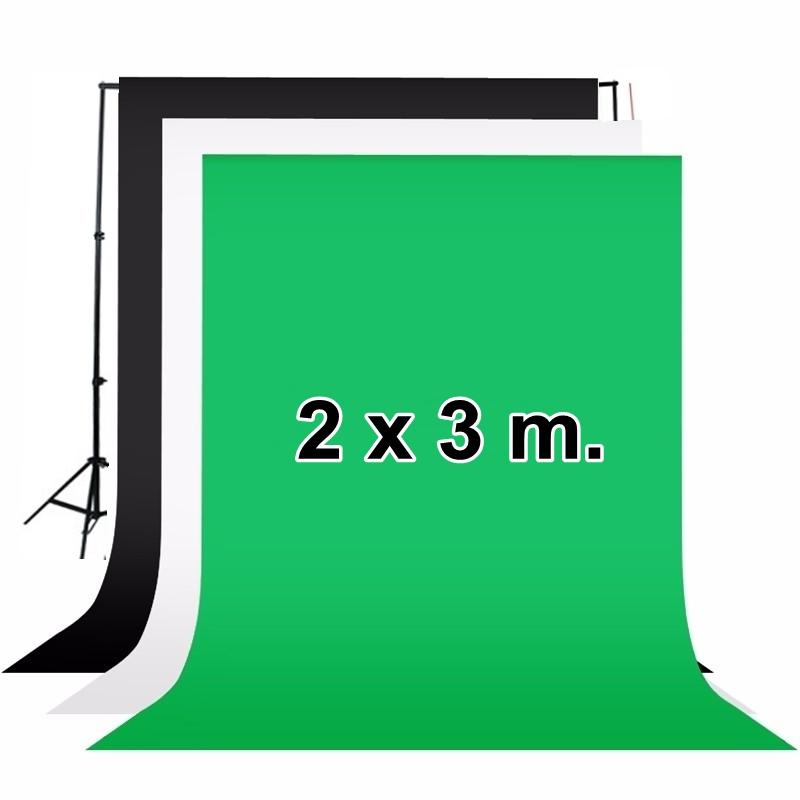 ผ้าฉากสตูดิโอ ขนาด 2x3 เมตร Photography Backdrop 2x3 m.