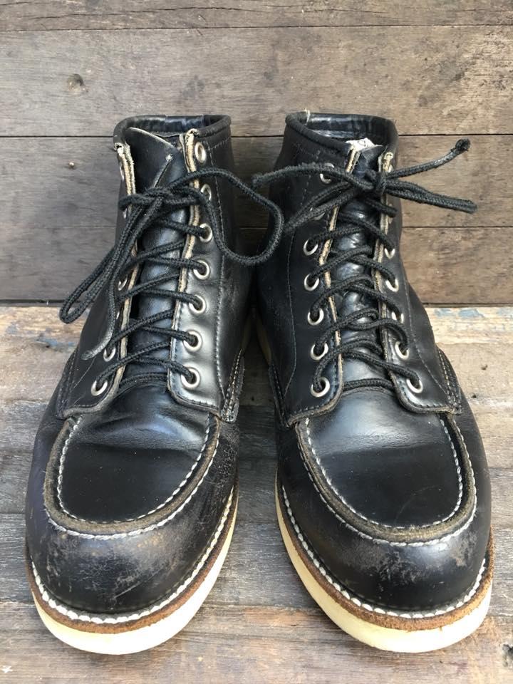 11.SALE VintageRedwing8179 ป้ายเล็ก ยุค90 size 6E
