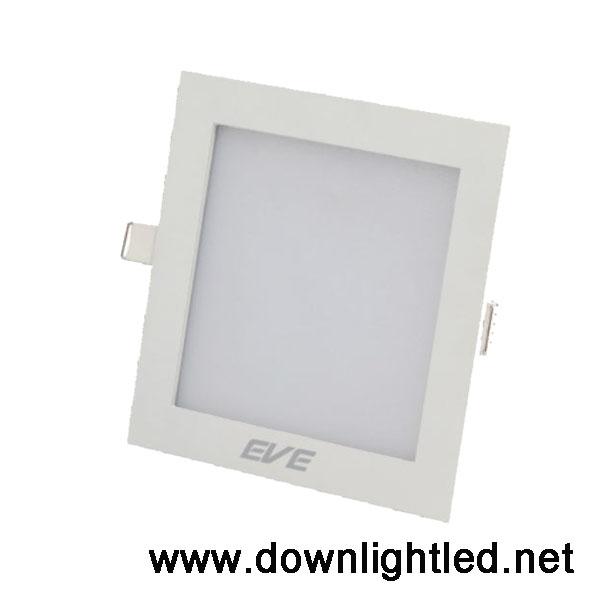 ดาวน์ไลท์ LED Panel light Square 15w (แสงส้ม)