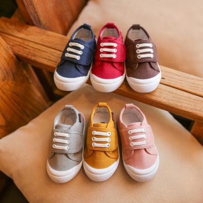 Baby Touch รองเท้าเด็ก รองเท้าพื้นแข็ง Canvas (Shoes - FHC1)