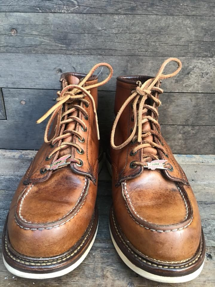Vintage 1950 Bf Goodrich safety boot size 9