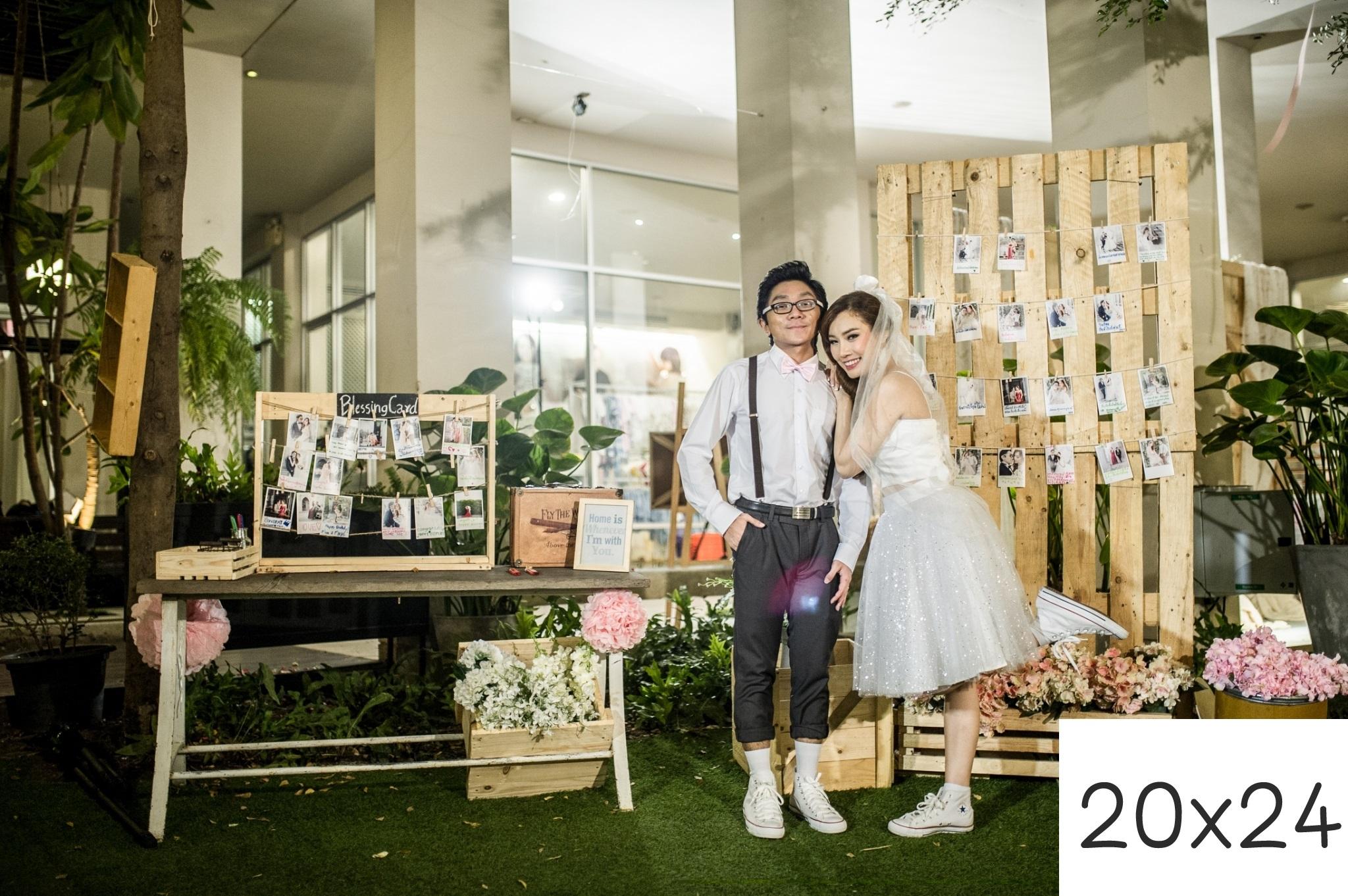 รูปแต่งงาน อัดรูปออนไลน์ ล้างรูปราคาถูก ขนาดอัดรูป 20x24