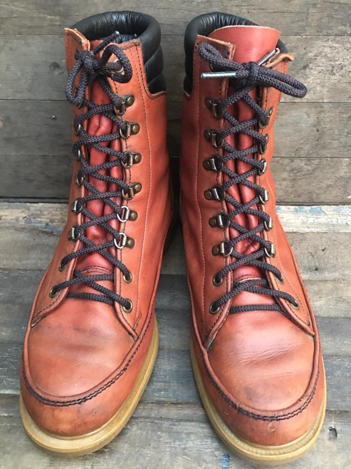 Vtg red wing super sole size8.5D
