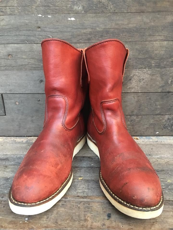 Vintage #Redwing866 boot ป้ายหมาห้อยข้าง เบอร์9.5E