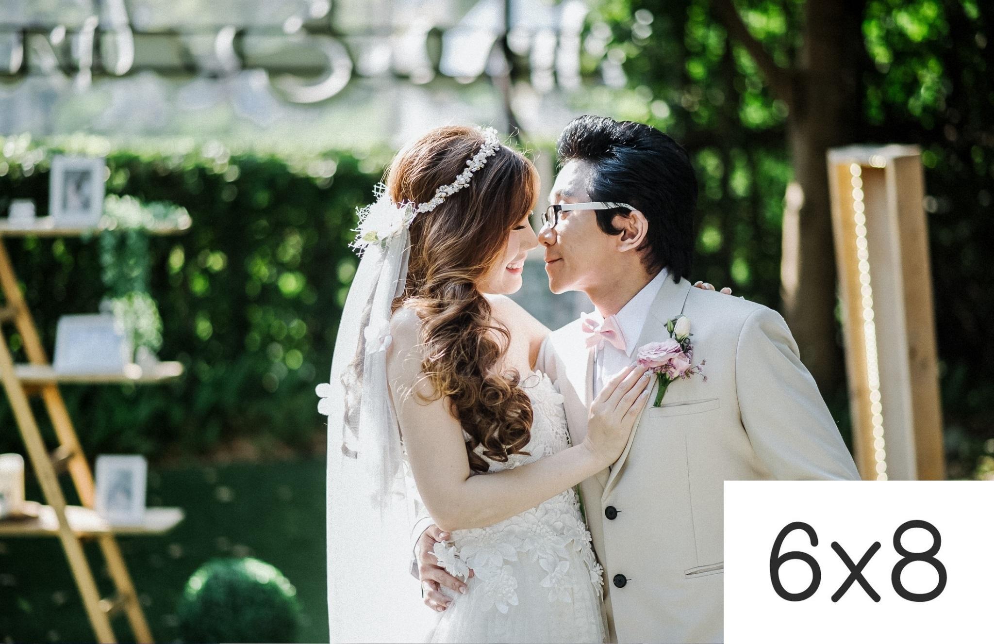 รูปแต่งงาน อัดรูปออนไลน์ ล้างรูปราคาถูก ขนาดอัดรูป 6x8