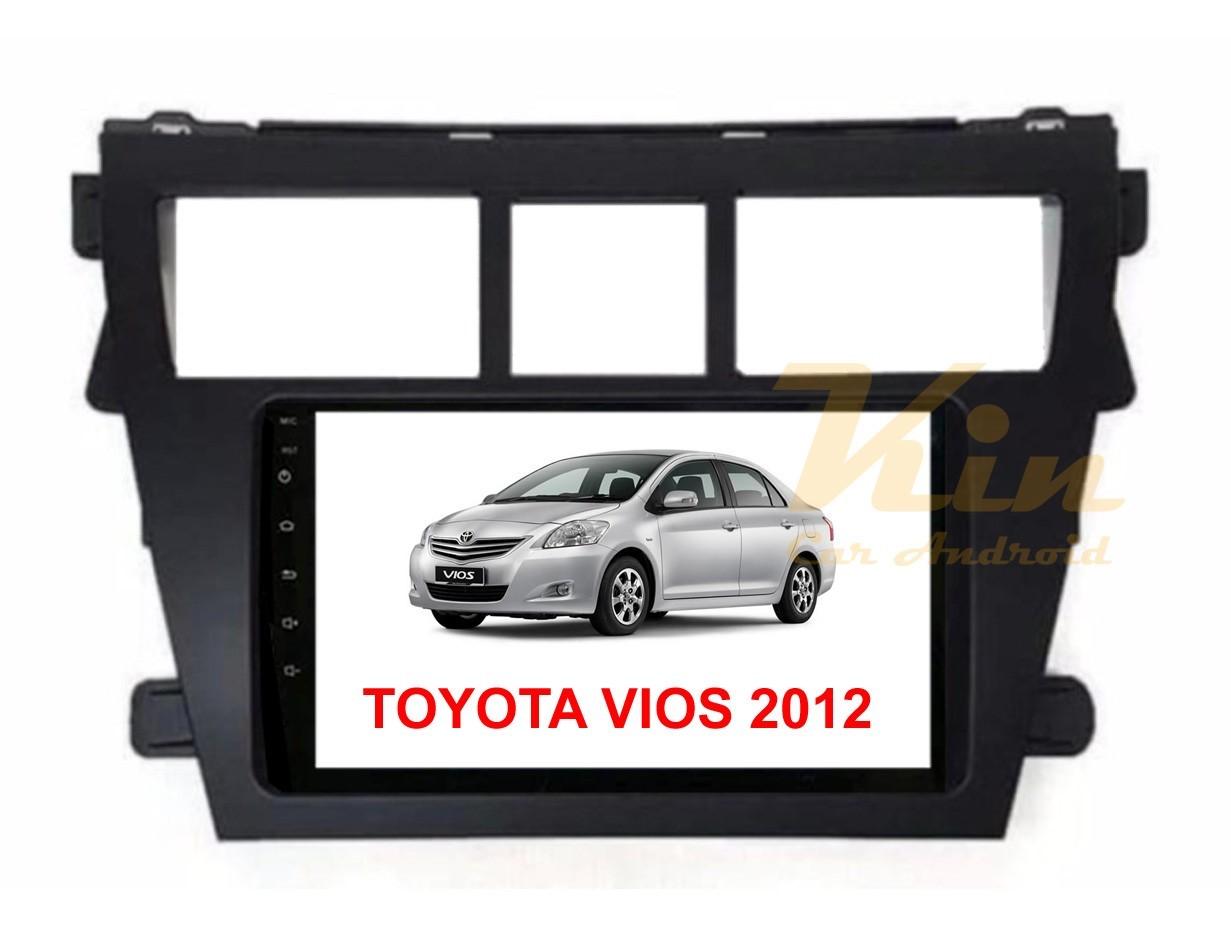 จอวิทยุแอนดรอยตรงรุ่น Toyota Vios 2012