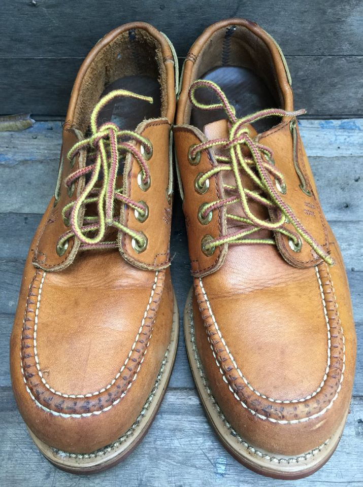 Vintage Knapp Oxford ๊USA Safety size 7