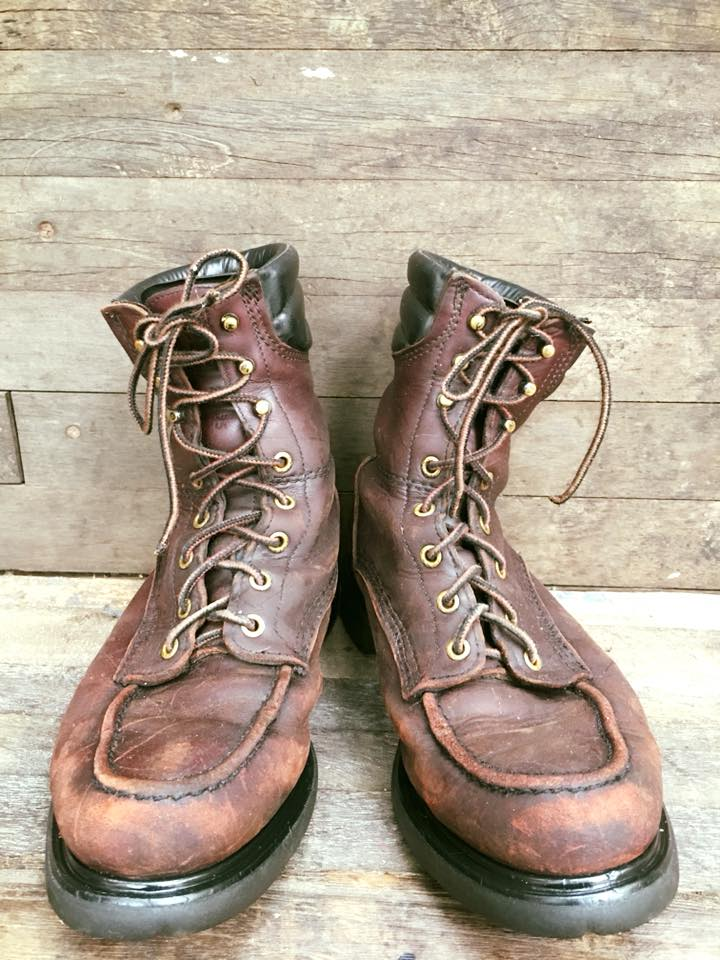 Redwing402 work boot หัวไม่เหล็ก vintage classic size 9D