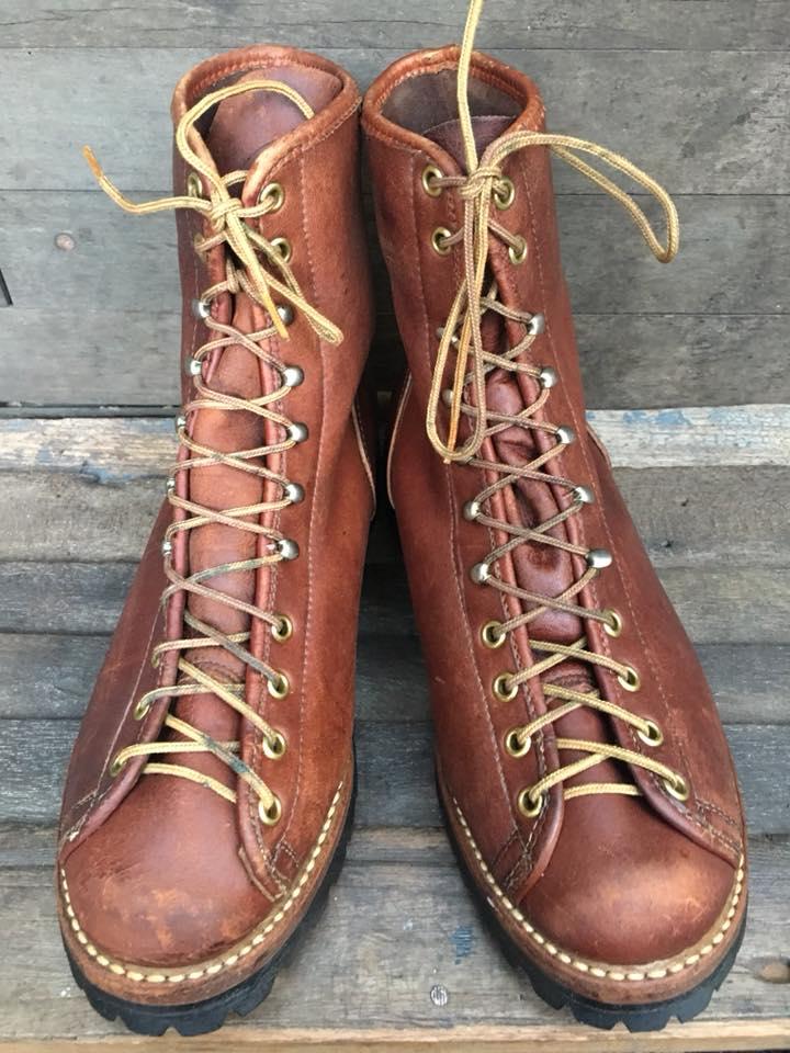 Vintage MONKEY Boots Unknown brand USA size 7.5