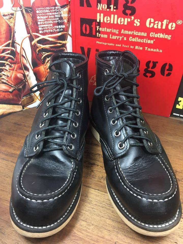 RED WING 8130 size 5.5E