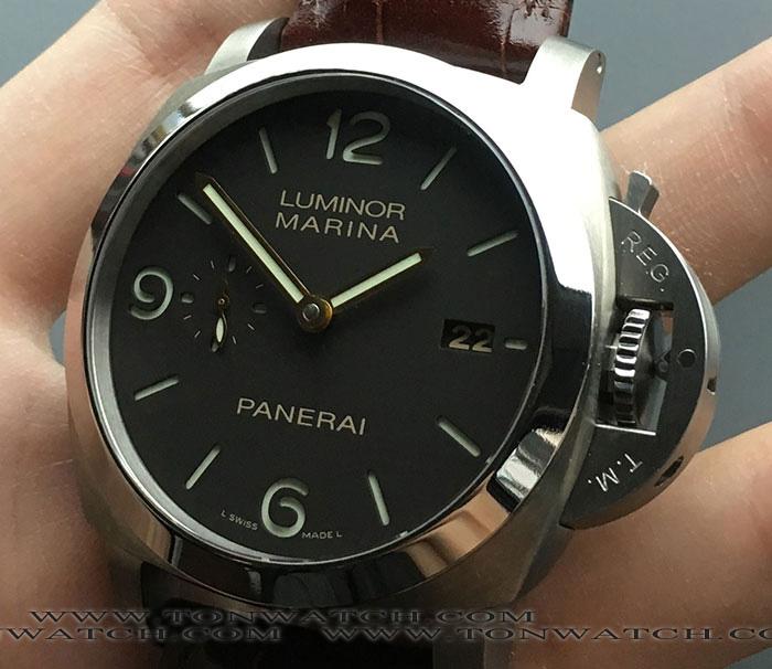 PAM 351 PANERAI LUMINOR MARINA 3-DAYS TITANIUM 1950 44MM
