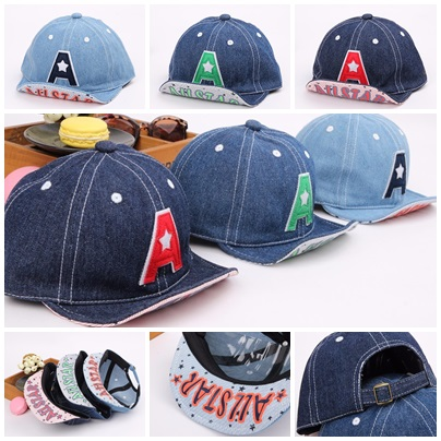 Baby Touch หมวกเด็ก พรีเมี่ยม แก๊ปยีนส์ A (Hat - ABA)