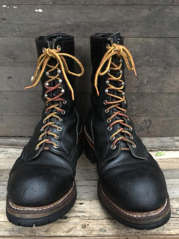 77.Vintage Redwing 2218 logger boot size 9