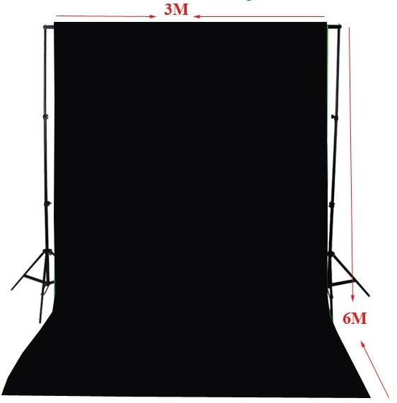ผ้าฉากสตูดิโอ ขนาด 3x6 เมตร