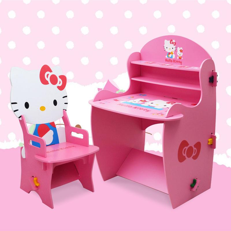 โต๊ะเก้าอี้เอนกประสงค์ Kitty ลายคิตตี้