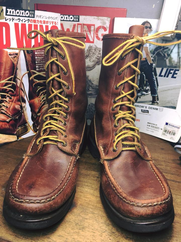 Russell Moccasin 1960 Vintage Hunting Boots รุ่น grand slam sheep hunter ปีลึกมากครับ