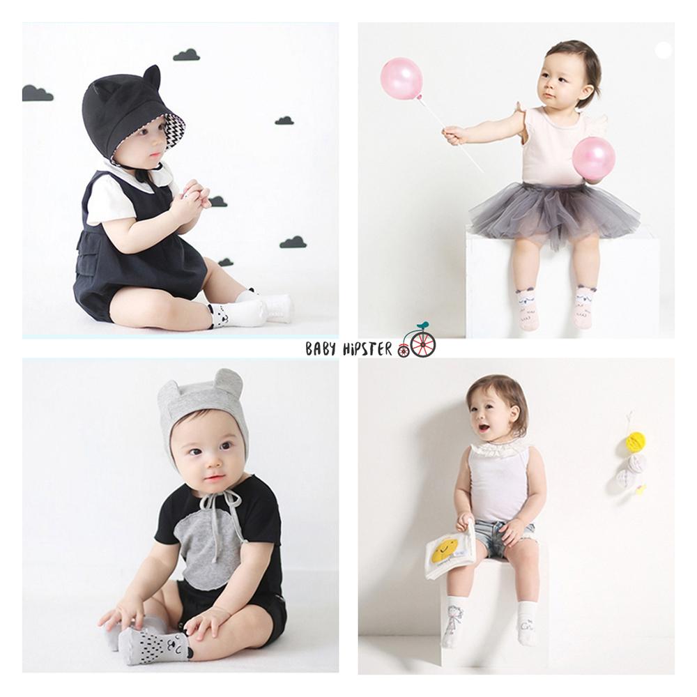 Baby Touch ถุงเท้าเด็ก ยาวบาง คุณหนู (Socks - SB)