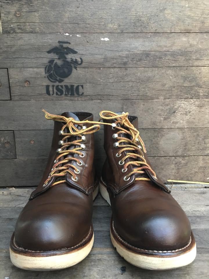 Redwing8134 size 9D/27cm เหมาะกับเท้า42-43 ราคา 3200