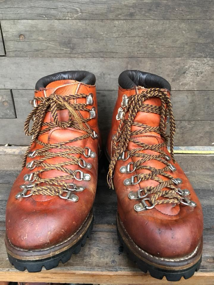 Vintage 1970 Red wing Irish setter mountain hiking boot size 8D