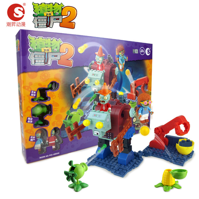 เลโก้ซอมบี้ Monster Macchine [Plants vs. Zombie]