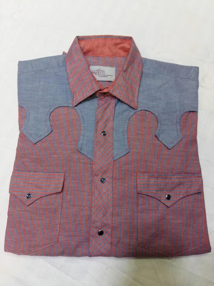 Shirt. KARMAN MADE IN U.S.A ไซร์. 15.5