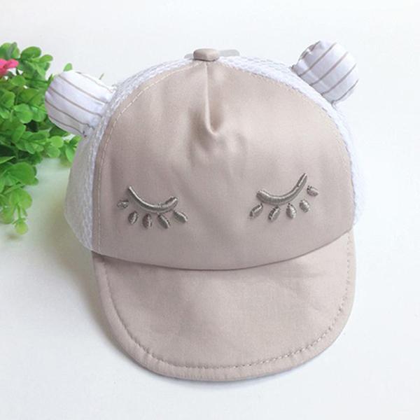 หมวกเด็ก แก๊ปฮิปโปขี้อาย (Hat - BR)