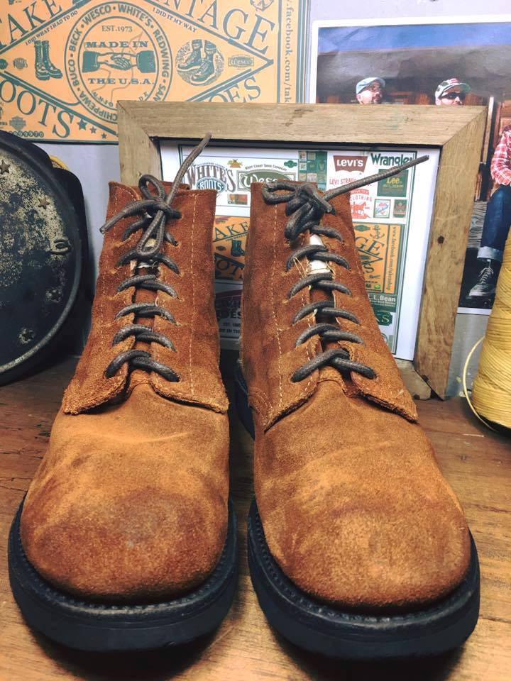 26. Vintage Gorilla made in usa union made size 10D