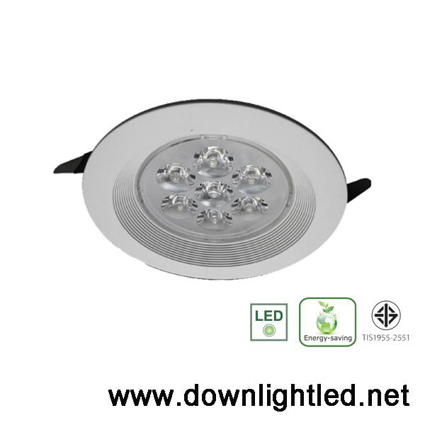 ดาวน์ไลท์ LED Lunar 5w (แสงขาว)