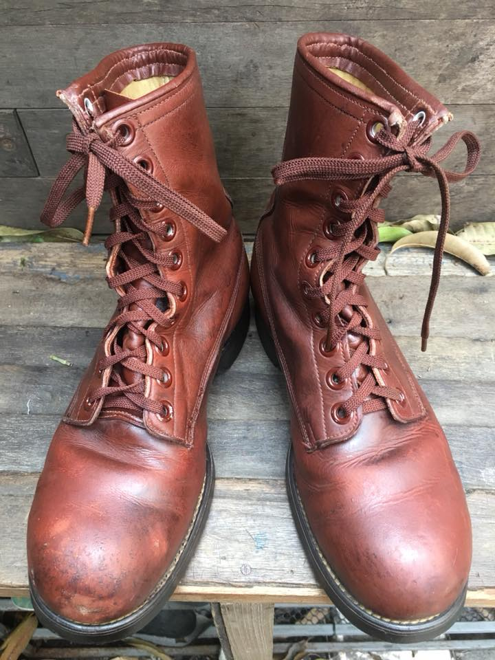 1950-60 BILTRITE USA Vintage safety หัวเหล็ก size 7R
