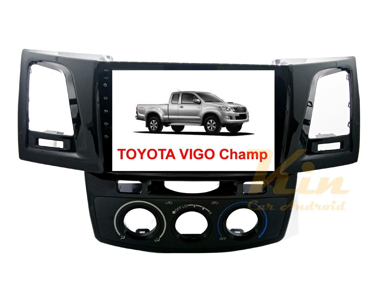 จอวิทยุแอนดรอยตรงรุ่น Toyota VIGO Champ