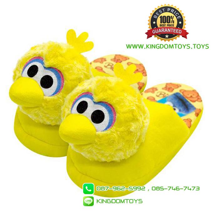 รองเท้าบิ๊กเบิร์ดหัวโผล่ พื้นหนา [Sesame Street]