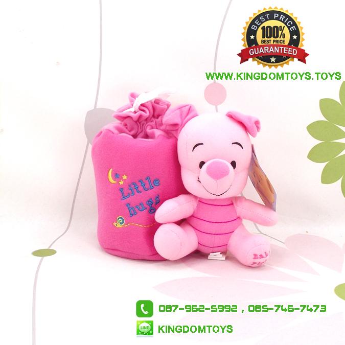 ที่ใส่กระดาษทิชชู่ เบบี้พิกเล็ต Baby Piglet 6.5 นิ้ว [Disney]