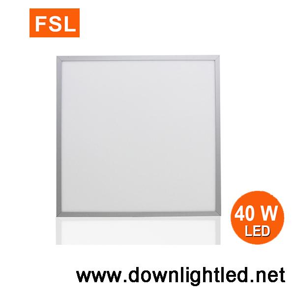 โคมอะคริลิคฝังฝ้าทีบาร์ 60x60 40w ยี่ห้อ FSL (แสงส้ม)